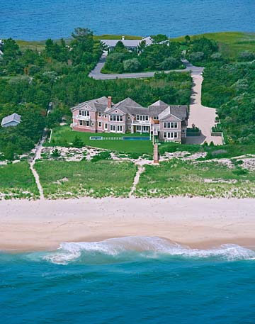 aerial photography, Southampton, Long Island, New York